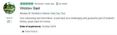 Wicklow Goal Trip Advisor Review